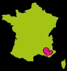 Landkaart-Frankrijk-met-hart-Bandol-rose