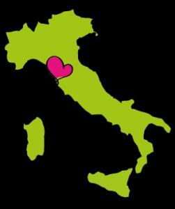 Landkaart-Italie-met-hart