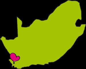 franschhoek in Zuid-Afrika