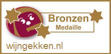 Bronzen medaille van Wijngekken
