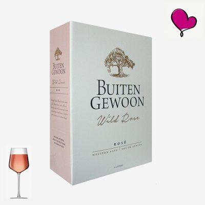 Wijntap Buitengewoon, Kaapse rosé, Zuid-Afrika bag in box