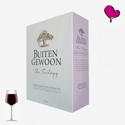 Wijntap Buitengewoon, Kaapse rode wijn, Zuid-Afrika bag in box